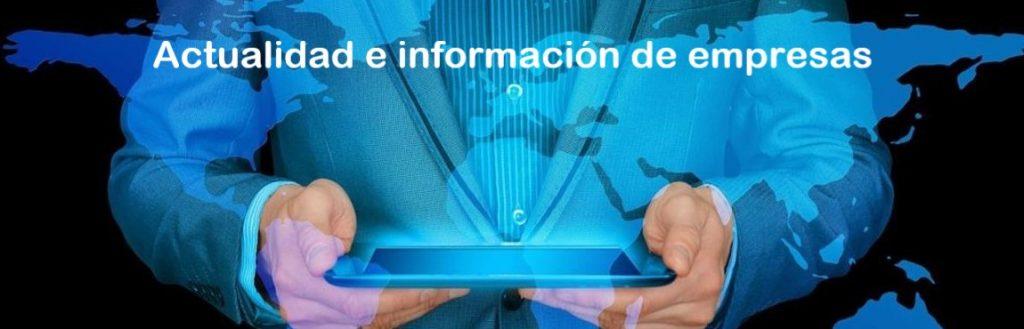 Actualidad e información de empresas.