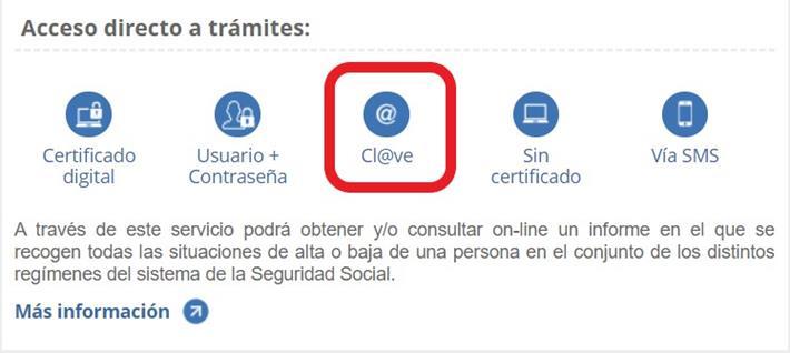 solicitar informe laboral online. Descargar certificado de la Seguridad Social.