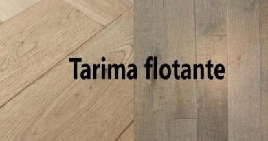 Poner suelo de tarima madera flotante. Suelo laminado