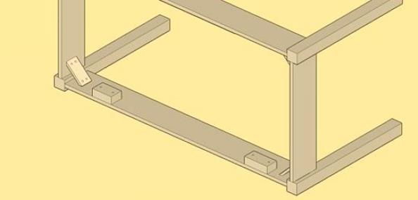 madera para hacer una mesa