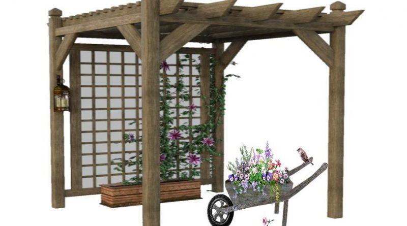 Jardineras Caseras con Traviesas