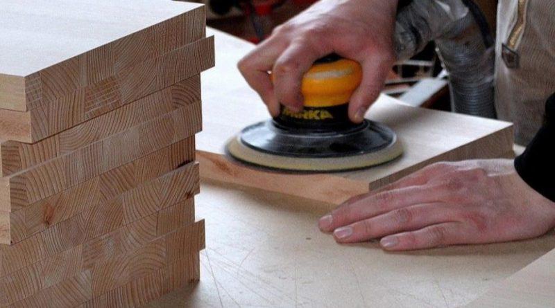 Como lijar con lijadora de mano la madera